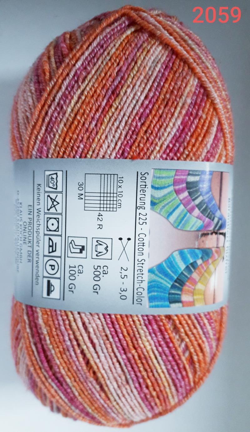 Cotton Stretch Color 4f