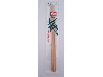 Bambus Nadelspiel 15cm