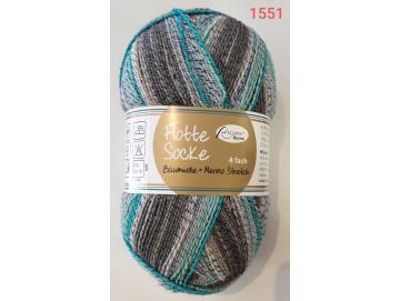 Flotte Socke Baumwolle Merino Stretch